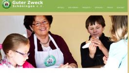 Umgestaltung der Internetseite des Guter Zweck e.V.