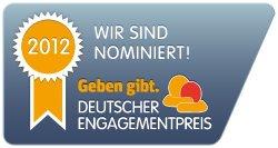 Nominerung für den Deutschen Engagementpreis 2012