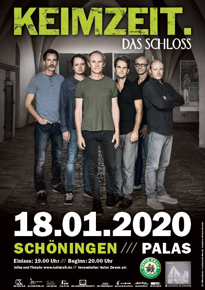 ANKÜNDIGUNG | Keimzeit-Konzert am 18. Januar 2020